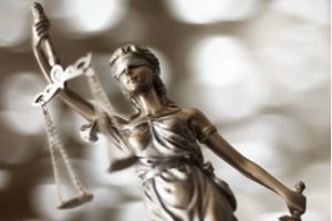 Lady Justice For The Lotto