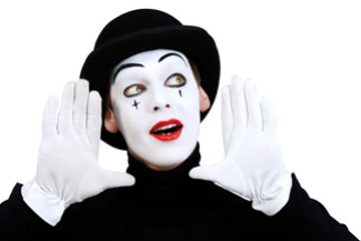 Mime Street Performer