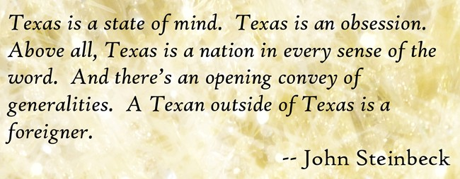 John_Steinbeck Texas Quote