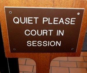 Traffic Court In Session
